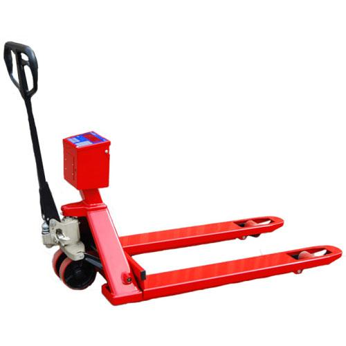 Intercomp 123000 PW800 Pallet Truck Scale Fork Size 27x48x2.9, 5000 x 1 lb