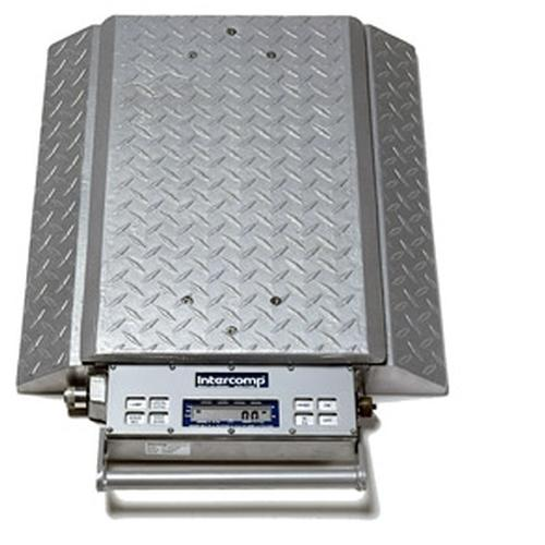 Intercomp PT300DW 100098-RFE (Double Wide) Wheel Load Scales with 868 MHz Wireless, 10000 x 5 lb