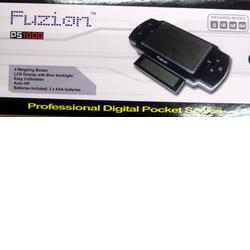 Gram Precision Fusion PS1000 Professional Digital Pocket scales, 1000x 0.1g