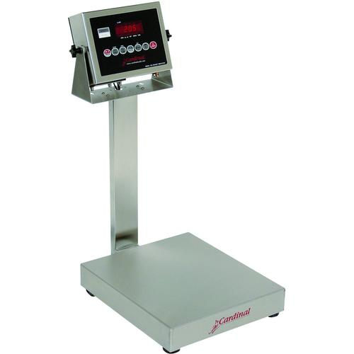 Detecto EB-15-205 EB-205 Series Stainless Steel Bench Scales,15 lb x 0.005 lb