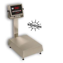 Detecto NB-1418-60KG-205  Waterproof Stainless Steel Bench Scales60 kg x .02 kg