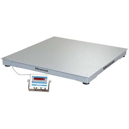 Brecknell DSB6060-05 Legal for Trade 59`` x 59`` Floor Scale 5000 x 1 lb