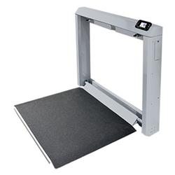 Detecto 7Wall-Mount Fold-Up Wheelchair Scale