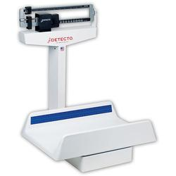 The Detecto mechanical pediatric scale, detecto scales