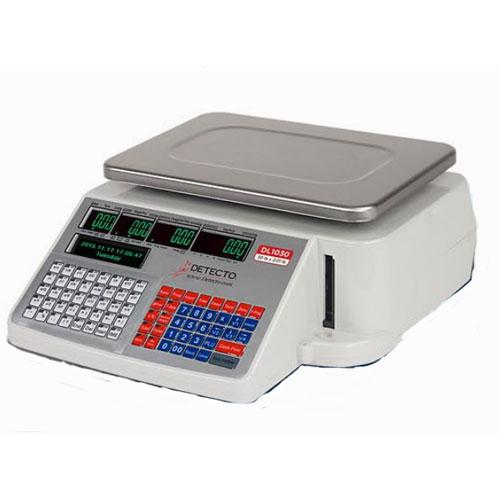Detecto DL1060 NTEP Digital Price Computing Printing Scale, 60 lb x 0.02 lb