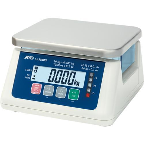 AND Weighing SJ-30KWP IP67 Checkweighing Scale 30kg x 1g