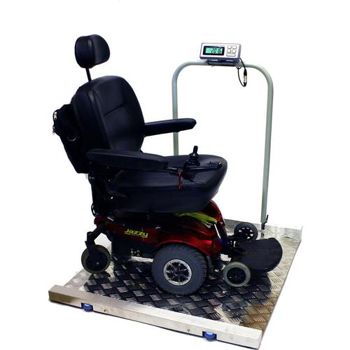 LW Measurements Tree LWC-1000 Portable Wheelchair Scale 1000lb x 0.2 lb