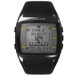 Polar FT60M 90036405 Heart Rate Monitor , Male Black with White Display