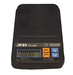 AND Weighing PV digital pocket Scales