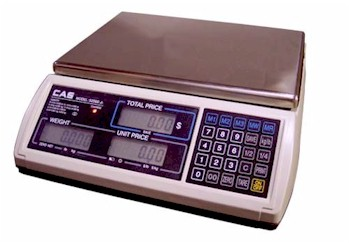 CAS S-2000-JR Digital Price Computing Scale / Deli Scale