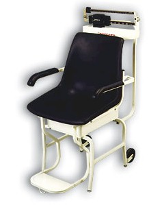 The Detecto 475 mechanical medical chair scale is reliably built for patients with special health care problems. Sturdy construction combines with time-saving design features in the most functional chair scales available anywhere. With heavy-duty understructure, these Detecto medical scales come fully assembled and ready to use.  - Detecto medical scales are made in the USA