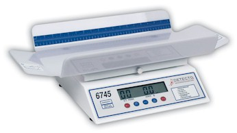 Designed to be used with utmost ease, the Dectecto 6745 digital infant scales can weigh even the most active babies.