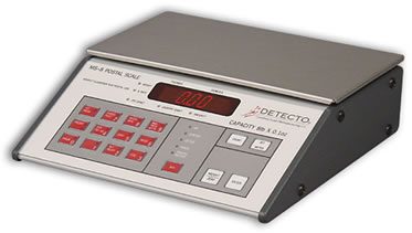 "Postal Scales: Postal Scales from Detecto - Detecto MS-8 Electronic ""Mail Master"""
