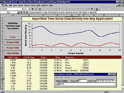 Mark-10 WinWedge Data Collection Software for Force Testing