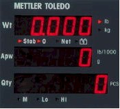 Mettler Toledo® XPress® Economy Counting Scale
