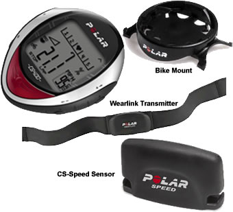 Polar CS-400 Cycling Computer / Heart Rate Monitor