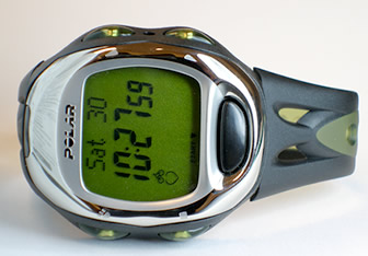 Polar S-725 heart rate monitor